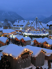 Mariazell, Christmas Fair. Photo from Flickr user Rinaldo W