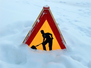 Is it legally safe to clear snow from outside your house?